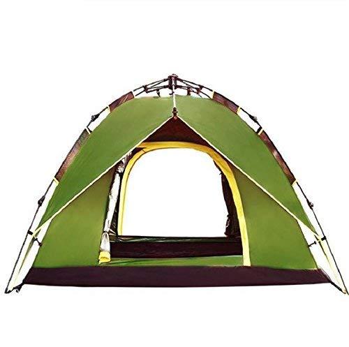 JIE Guo-Produkte im Freien 3-4 Leute, die automatische Zelte, Wilde kampierende Zelte, Oxford-Stoff-Regen, tragbares Zelt im Freien Zelten