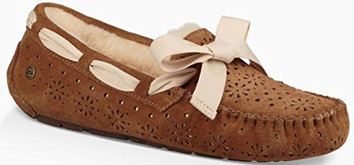 UGG Womens Dakota Sunshine Perf Slipper, Chestnut, for sale  Delivered anywhere in USA