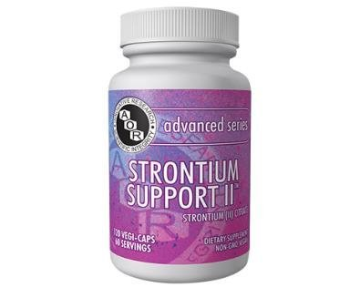 Strontium Support II (120 Vegi-Caps) by Advanced Orthomolecular Research