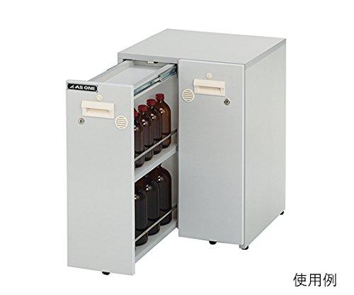 木製薬品保管ユニット(UT-Lab.) 463×478×650 /3-6795-01 B079BQ7VBJ 463×478×650  463×478×650