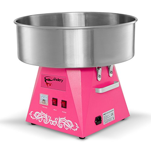 The Candery Cotton Candy Machine Commercial Grade Candy Floss Maker For Pink Birthday Party Supplies Food Grade Safe by The Candery