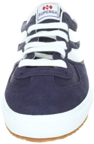 Superga 2832-NYLU Zapatillas de ante, Unisex - Adulto Blue-white