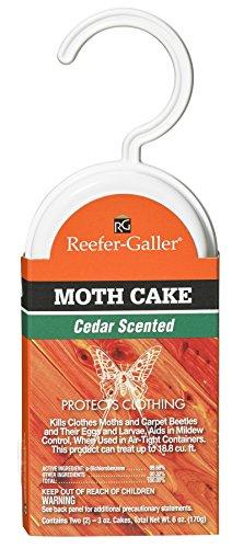 (Reefer-Galler Cedar Moth Cake (case of 6))