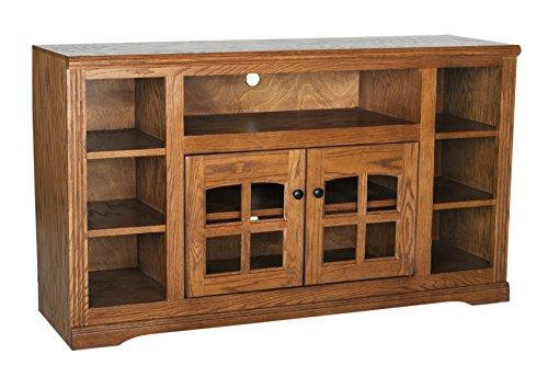 Traditional Bookcase (Eagle Oak Ridge Thin Screen Entertainment Console with Bookcase Sides, Concord Cherry Finish)