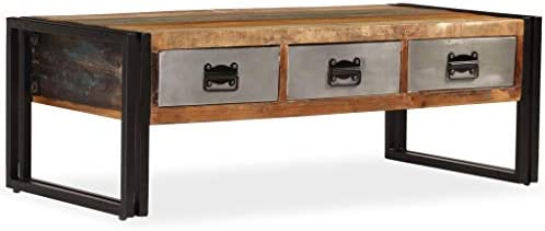 Tidyard Industrial Coffee Table - a good cheap living room table