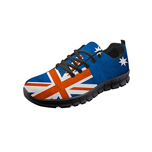 2 Donna British Flag Showudesigns Sneaker 5IwFWqA