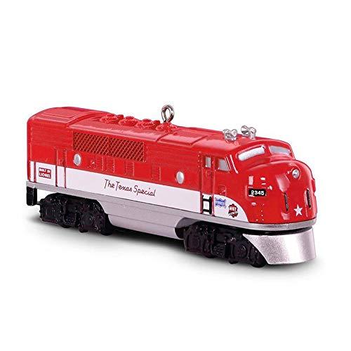 Hallmark Keepsake Christmas Ornament 2018 Year Dated, LIONEL Trains 2245P Texas Special Locomotive, Metal