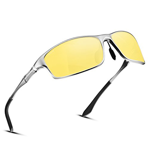 SOXICK Night Vision Glasses For Driving - Adjustable Polarized HD Driver Glasses For Men Women by SOXICK