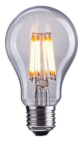 Zuo Modern E26 A19 8W LED Bulb, 100mm x 60mm, Clear