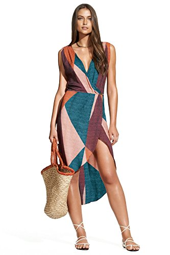 ViX Women's Gisele Caftan Dress Cover up, Ananda, M