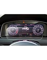 LFOTPP Golf 7 Facelift R GTD GTI GTE Golf Variant 12,3 cala folia ochronna na tablicę rozdzielczą - 9H odporna na zarysowania folia ochronna na wyświetlacz