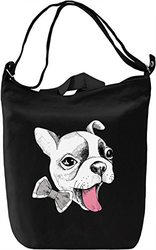 Funny Dog Borsa Giornaliera Canvas Canvas Day Bag  100% Premium Cotton Canvas  DTG Printing 