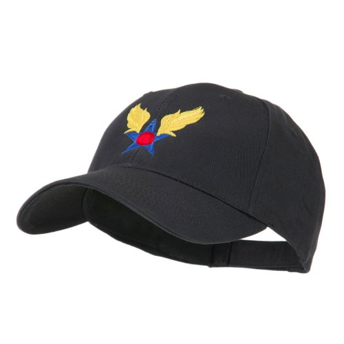 e4Hats.com Army Air Corps Military Embroidered Cap - Navy OSFM