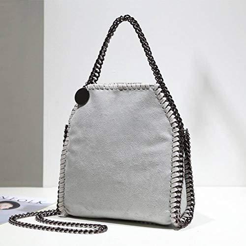 grigio moda donna tracolla media Borsa creativa a Borsa per diagonale multitasche a spalla kaki WZgx71n