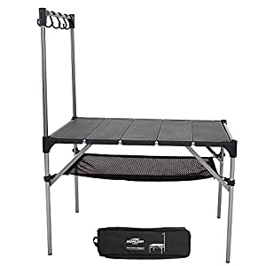 Soomloom 折り畳み式テーブル アルミ製 アウトドア用 キャンプ用 超軽量材質