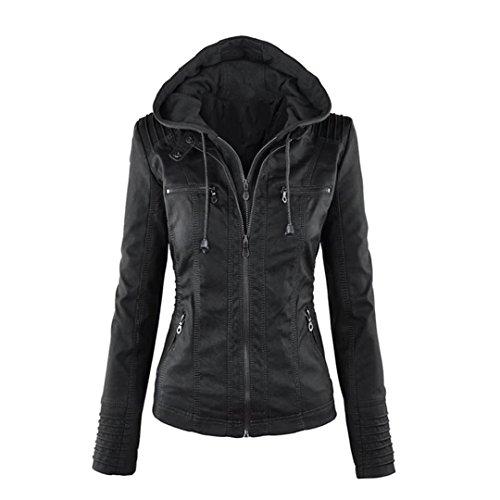 Leather Motorcyle Jacket - 7