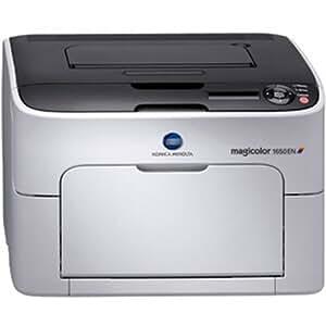 Konica Minolta Magicolor 1650EN Color Laser Printer; 20PPM; B&with 5 Ppm Color;  9600X600 Dpi; 256 Mb Ram; Ethernet
