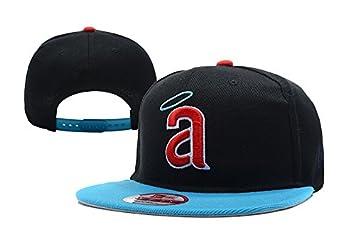 MLB Los Angeles Angels de Anaheim Gorra Gorro de algodón Cap  Amazon.es   Deportes y aire libre 521276b39e4