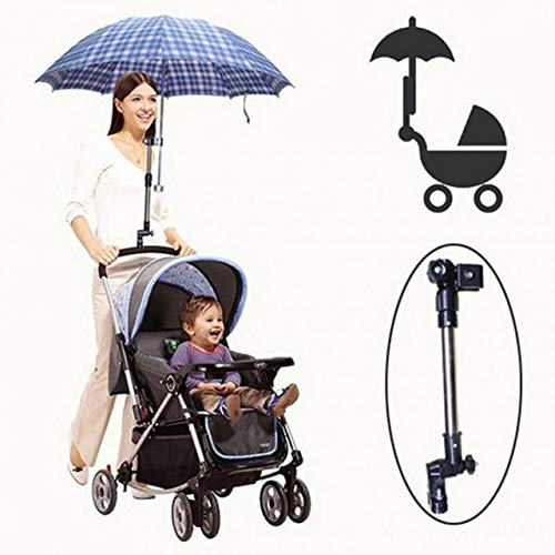 Adjustable Baby Stroller Umbrella Holder Plastic Stroller Umbrella Stand Holder Baby Stroller Accessories by PerfectPrice (Image #6)