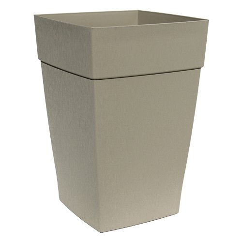 Top DCN Plastic N351638 Harmony Tall Planter, Portabella, 16 by 24-Inch (Discontinued by Manufacturer) free shipping