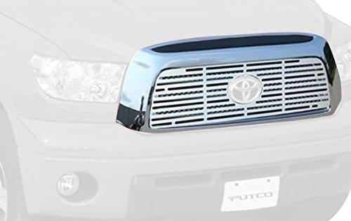 Putco 302192 Liquid Boss Thick 3-D Mirror Solid Aluminum Grille