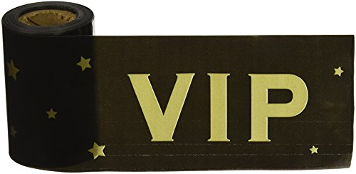 [Beistle 66182 VIP Poly Decorating Material, 3-Inch by 50-Feet] (Hollywood Celebrities Halloween Costumes)