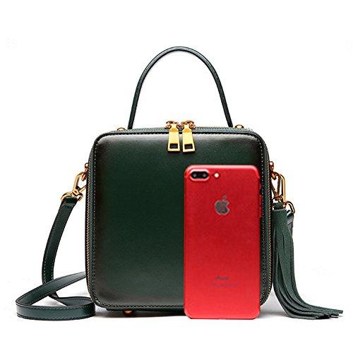 Dark mano Borsa green Mulier donna 067 green Verde HB Dark Darkgreen a ngIawq6