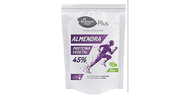 Proteína de Almendra Bio, 150 g El Granero Integral: Amazon ...