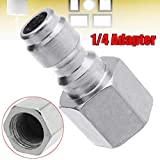 1/4 Inch BSP Female Thread Connector Joint Pipe Fitting SS copper Coupler Adapter New Arrival
