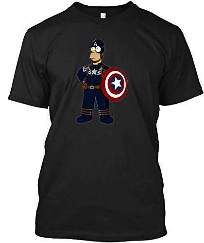 Captain Simpson Tshirt - Men's Woman Funny Novelty T-Shirt-Sweatshirt-Hoodie Black]()