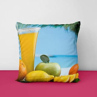 41bV5RRC6tL. SS320 Fruite Juice Square Design Printed Cushion Cover