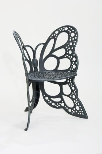 Gentil Flower House FHBC205A Butterfly Chair, Antique