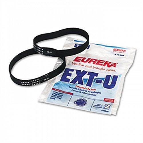 Eureka Whirlwind - Replacement Belt for Eureka Maxima LiteWeight Upright & Sanitaire Vacuums, 2/PK