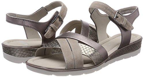 Street Heels Beige ARA Taupe Sandals Alassio Women's 8Pqzx0T