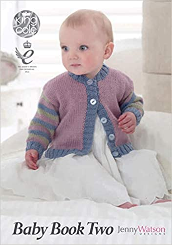 King Cole Baby Book Two 12 Baby Knitting Designs Amazon