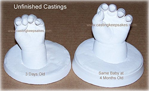 Luna Bean Deluxe 3D Prints Baby Casting Kit (Pearl) by Luna Bean (Image #5)