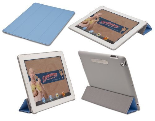 Devicewear Bridgeway Smart Cover Front Back Protection for The New iPad / iPad 2