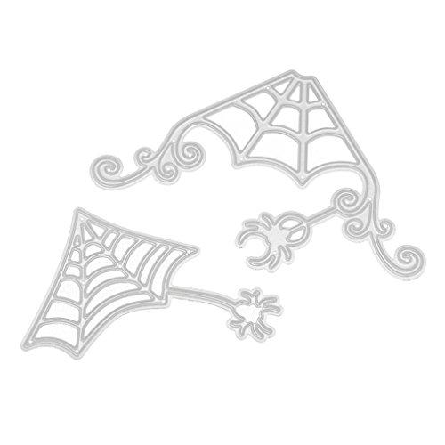 GBSELL Happy Halloween Metal Cutting Dies Scrapbooking Embossing DIY Crafts (Cutting A Pumpkin For Halloween)