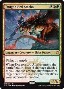 Magic: the Gathering - Dragonlord Atarka (216/264) - Dragons of Tarkir