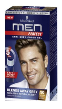 buying now famous brand get online 3 X Testanera Men Perfect 50 Castano chiaro naturale colorante in gel Uomo