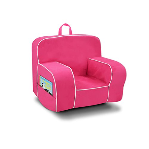 Kangaroo Trading Mason Grab'N'Go Rocker (2 Pockets) Montana Fuchsia Burst with White Childrens Rocking Chairs by Kangaroo Trading