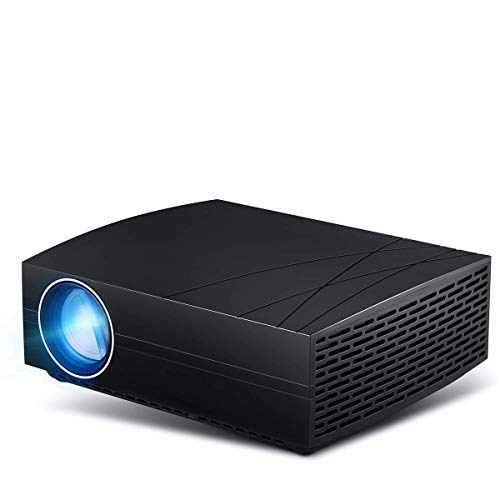 Home Projector, Mini Projector 3000 Lumens 1080P HD projectors for Video Projector Compatible with SDTV/EDTV/HDTV, NTSC, PAL/SECAM, Android 6.0 Home Theater ()