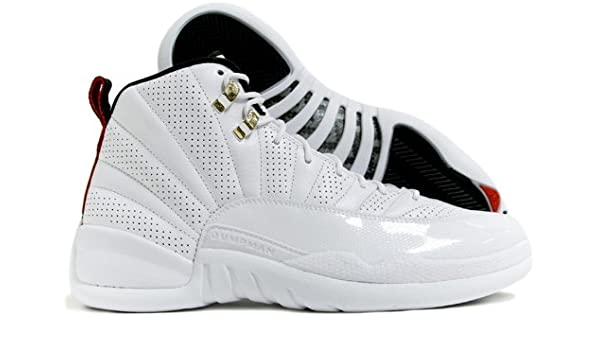 huge selection of a7359 7fa11 Amazon.com   Jordan Nike Air 12 Retro XII Rising Sun Mens Basketball Shoes  130690-163   Basketball