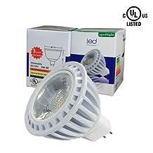 eshop Lighting 10-Pack 100% Original Super Bright Epistar Chip Dimmable COB LED MR 16 5W Neutral White 4K 38 Degree Light Bulbs