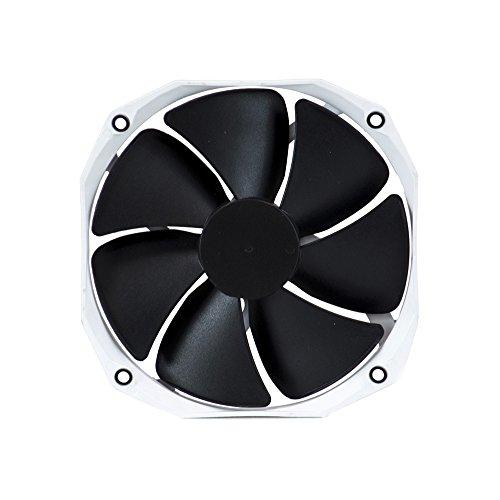 Phanteks 140mm CPU Cooler Fan Upgrade, PWM, 1600 RPM High-Static Pressire, Blades Retail Cooling PH-F140HP_BK2(II) White/Black