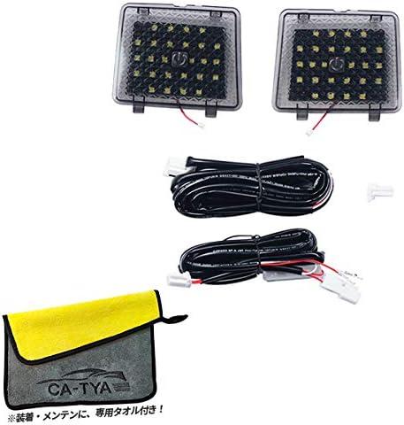 [Accesments] RAV4 50系 トランクランプ ラゲッジランプ LEDライト 自動感応 高輝度 内装パーツ インテリアパネル アクセサリー 2P RA110