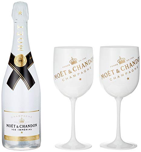 Moet & Chandon Ice Imperial White & Gold Acrylic Champagne Goblets (6 Pack) by Moët & Chandon (Image #2)