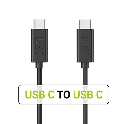 USB C to USB C Cable, ZeroLemon Type C to Type C 3.3ft Fast Charging Sync Cable for Nintendo Switch, Samsung S9 S8 Plus Note 9 MacBook Pro LG V30 iPad Pro 11 12.9 2018 and More (Black)