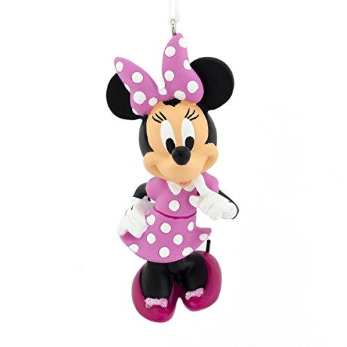 Hallmark Christmas Ornament, Disney Minnie Mouse in Pink White Polka Dot Dress