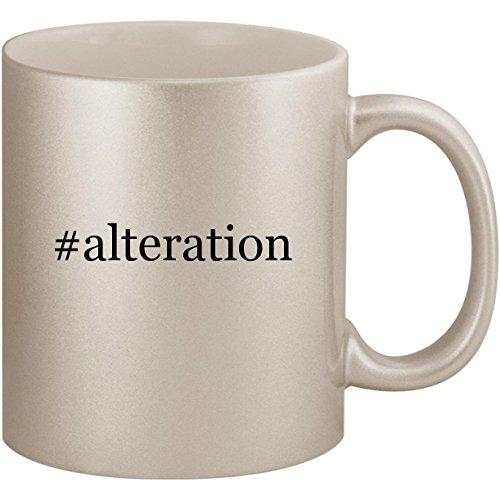 #alteration - 11oz Ceramic Coffee Mug Cup, Silver -